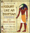 Count like an egyptian